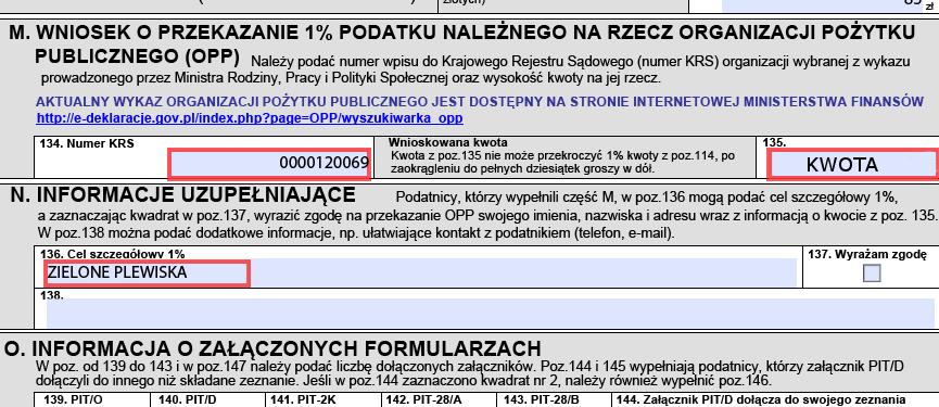 1% dla akcji Zielone-Plewiska